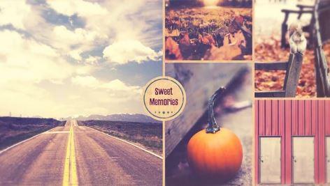 پروژه آماده افتر افکت Sweet Memories