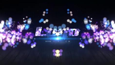 پروژه نمایش لوگو Smooth Particle