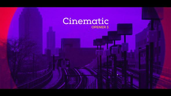 پروژه رایگان افتر افکت Cinematic Opener