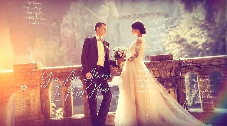 پروژه آماده افتر افکت عروسی