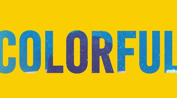 پروژه آماده افتر افکت Colorful Titles