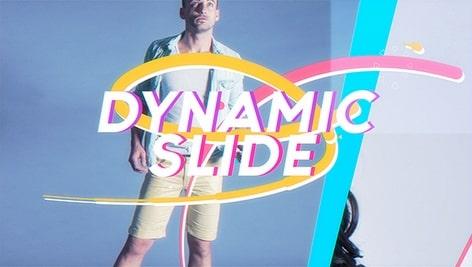 دانلود پروژه آماده افتر افکت Dynamic Slideshow