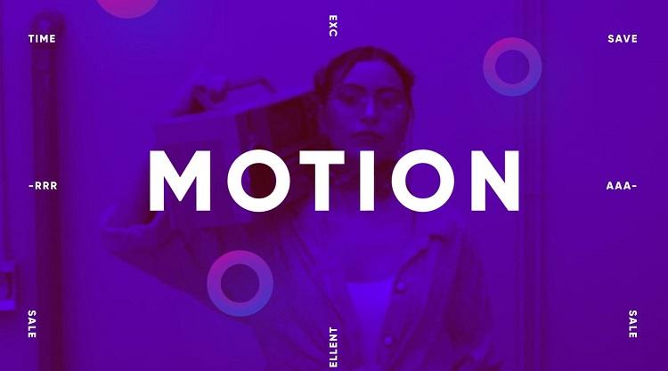 دانلود پروژه آماده افتر افکت Cool Motion