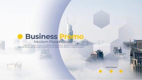 دانلود پروژه آماده افتر افکت Business Promo