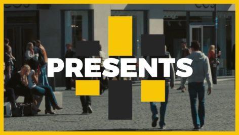 پروژه آماده افتر افکت event promo opener