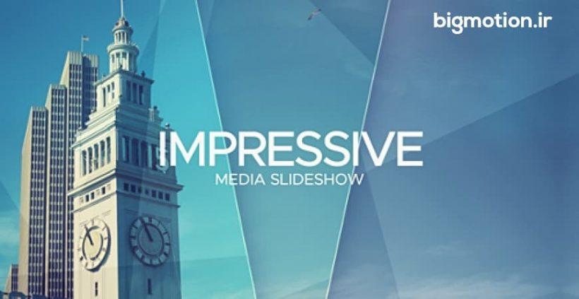 پروژه آماده افتر افکت Impressive Media