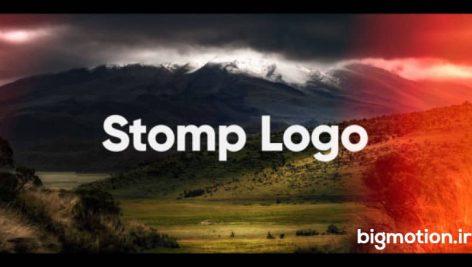 دانلود رایگان پروژه آماده افتر افکت Stomp Logo