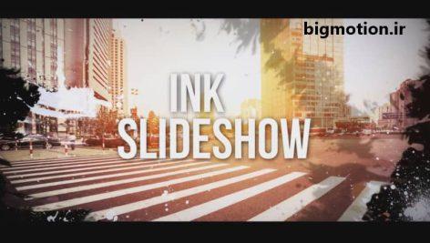 پروژه آماده افتر افکت ink slideshow
