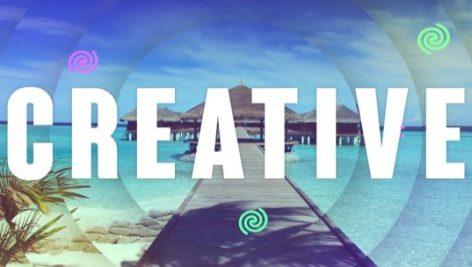 پروژه آماده Creative Intro