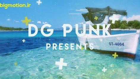 پروژه افترافکت DG punk
