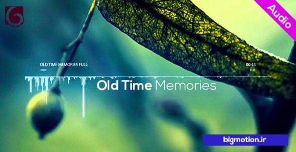 دانلود رایگان موزیک تیزر Old Time
